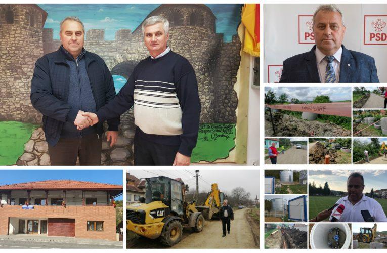 REPORTAJ: Proiecte mari de investiții demarate în Comuna Mirșid de primarul Călin Bereschi