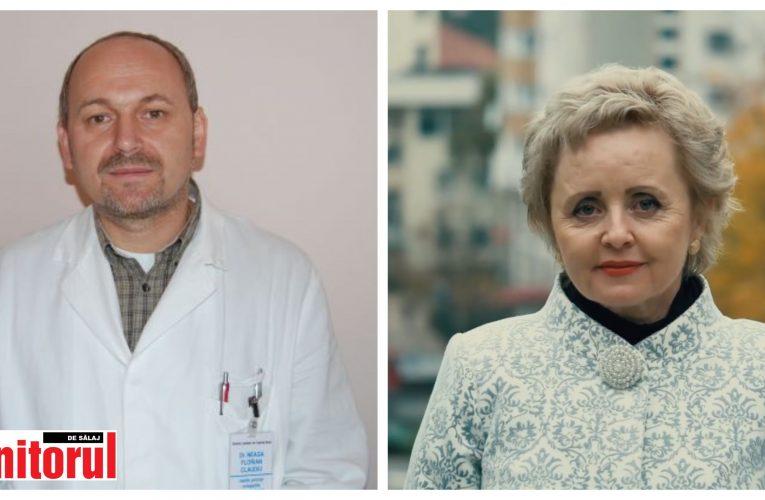Deputatul Florian Neaga și senatoarea Irina Kovacs, primii parlamentari sălăjeni care s-au vaccinat împotriva COVID-19