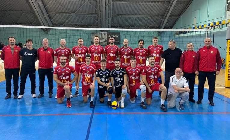 SCM Volei Zalău a terminat neînvinsă primul turneu din playoff