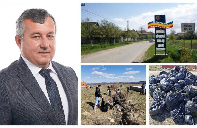 La Valcău de Jos asistații sociali sunt scoși la muncă și curățenie de către primarul Roșan Ioan