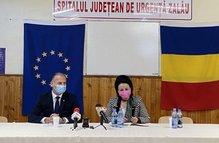 Consiliul Județean Sălaj a reziliat contractul pentru extindere ambulatoriu, spitalizare de zi și bloc operator