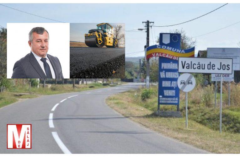 Primăria Valcău de Jos în parteneriat cu Consiliul Județean vor repara drumul județean DJ 191 G