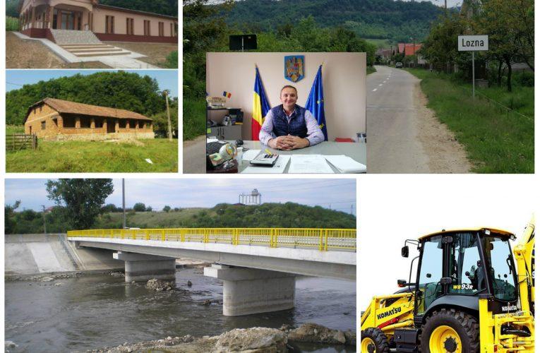 Lozna: Principalele proiecte de investiții realizate în perioada 2016-2020