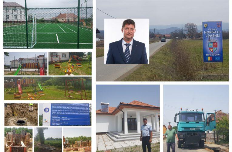 Noua conducere a Primăriei Horoatu Crasnei înregistrează primele rezultate în dezvoltarea comunei