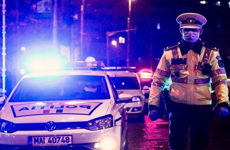 Șofer de 34 de ani din Maramureș care mirosea a alcool urmărit în trafic și blocat de polițiști